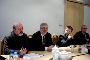 Prof. Jagielski i p. T. Jackowski z NCBJ w BBN